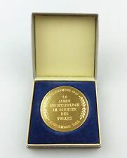 #e7965 DDR Medaille 40 Jahre Rechtspflege im Dienste des Volkes 1989