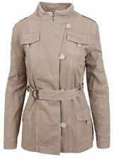 L' ARGENTINA Damen Mantel Jacke Jacket Coat Größe M 38 100% Baumwolle Cotton NEU