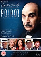 Agatha Christies Poirot: Feature Length Collection (Digitally Re-mastered) [DVD]