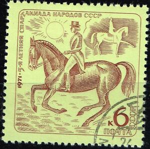 Russia Fauna Pets Farm Animals Horse stamp 1971 B-6