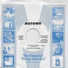 MICHAEL JACKSON  Rockin' Robin   rare promo 45 from 1972  JACKSON 5
