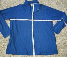 Nike Acg 1/4 Zip Pullover Shirt Blue Long Sleeve Men's Xxl Euc