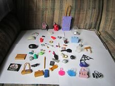 Monster High Large Parts Accessory Lot Jewelry Bags Wings Helmet Suitcase