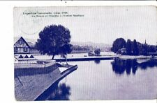 CPA Carte Postale-Belgique-Liège Exposition de 1905-La Meuse L'Ourthe à l'union