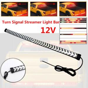 60CM Car Tailgate LED Signal Turn Running Brake Light Bar Reverse Streamer Strip