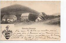 HABERACKER-Ochsenstein Bas Rhin Alsace CPA 67 vue