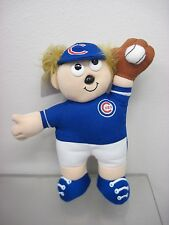 Chicago Cubs Stuffed Baseball Player Sportstuff Offical License New Old Stock