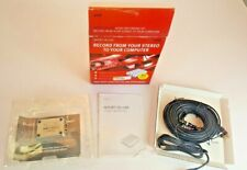 Xitel Inport Deluxe Stereo To PC Recording Kit New in Box 2006 Cassettes LPS