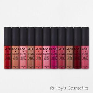 """11 NYX Soft Matte Lip Cream Lipstick - SMLC """"11 Color Full Set""""*Joy's cosmetics*"""
