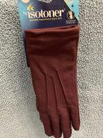 Isotoner Women's 1 Size Smart Dri Touchstone Technology Glove Plum