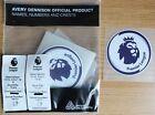 1 Avery Dennison Premier League Shirt Sleeve Arm Patch Adult 66mm Replica Size