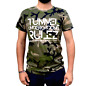 "Tunnel Shirt ""UNDERGROUND RULEZ"" Camouflage Boys • Größe XL"