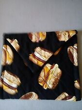 Quilted microwaveable Egg McMuffin warmer bag