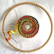 11 Inch Round Beech Wood Weaving Loom Hand-Knitting Looms Diy Craft Tool