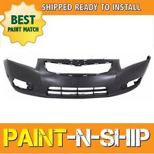 NEW 2011 2012 2013 2014 Chevy Cruze w/o Chme RS Front Bumper Painted GM1000924
