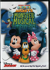 Mickey's Monster Musical DVD Mickey Mouse Clubhouse Disney Junior Halloween NEW