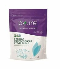 Pyure Organic Powdered Confectioners Stevia Sweetener Blend, 2:1 Sugar Substitut