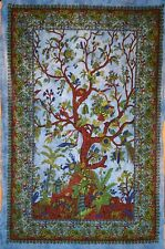 Hand Dyed Tree Of Life Wall Hanging From India