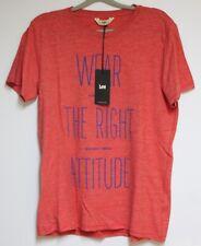 LEE T-Shirt Taille:M Neuf avec Étiquette Np