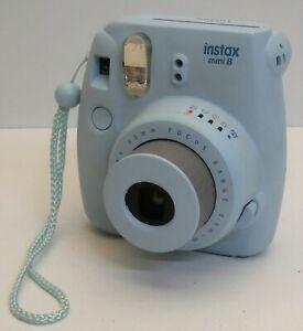 Fujifilm Instax Mini 8 Instant Camera - Auto Focus - Blue
