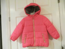 NEW CARTERS TODDLER GIRL HOODED PUFFER WINTER COAT PINK...