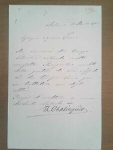 Fyodor Chaliapin - signed autograph letter