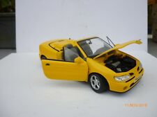 1/18 ANSON  RENAULT MEGANE CABRIO IN YELLOW OHNE   BOX
