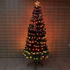 8ft  Digital LED Fibre Optic Christmas Tree Winter Holiday Home d�coration