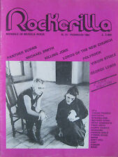 ROCKERILLA 31 1983 Virgin Prunes Steele Killing Joke Panther Burns Polyrock Echo