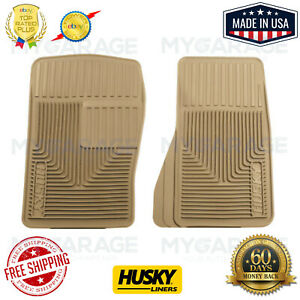 Husky Liners 51073 Heavy Duty Tan Front Floor Mats for 93-09 Ford Ranger