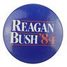 Vtg Reagan Bush 1984 Political Campaign Pinback Pin Button