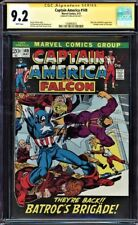 CAPTAIN AMERICA #149  CGC 9.2 WHITE SS STAN LEE SIGNED CGC #1508463012