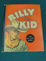 THE BIG LITTLE  BOOK - BILLY THE KID - #773 - 1935 - HAL ARBO ART - HIGHER GRADE