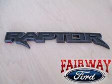 17 F-150 OEM Genuine Ford Parts RAPTOR Black Tail Gate Emblem Nameplate Trim NEW