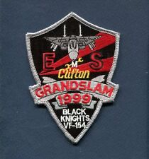 VF-154 BLACK KNIGHTS GRAND SLAM 1999 US NAVY F-14 TOMCAT Fighter Squadron Patch