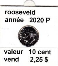 pièces de 10 cent  rooseveld de 2020 P
