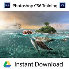 Adobe PhotoShop CS6- Professional Training Videos -Instant Download