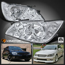 For 2001-2005 Lexus Is300 Clear Replacement Headlights Head Lamps Left+Right (Fits: Lexus)