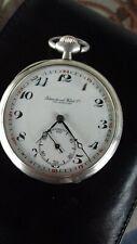 IWC silver pocket watch,