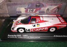 1/43 Porsche 956 le Mans 1983 canon lammers