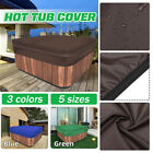 Hot Tub Spa Cover Oxford Fabric Anti-UV Electrical Dust Protector Tubspa Ca