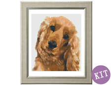 What's Next? Cocker Spaniel Dog - Cross Stitch Kit
