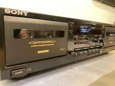SONY TC-WR635S Cassette Deck, Dolby S/B/C/HX-P, AMS, Made in Japan