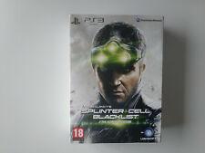 Coffret Collector Splinter Cell blacklist ultimatum edition Playstation PS3 FR