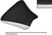 Diseño 2 Blanco Y Negro Custom encaja Honda Cbr 250 Mc 22 Frontal De Cuero Funda De Asiento