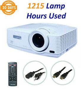 Mitsubishi WD570U DLP Projector 3500 ANSI HD 1080p HDMI - 1215 Lamp Hours Used