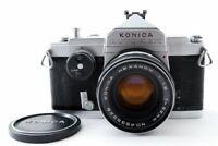 Excellent++ Konica Autorex 35mm SLR Film Camera w/ 52mm f/1.8 Lens from Japan