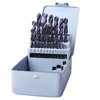 Black Drill Bits Set 29PCS HSS Twist Multi Drill Bit Wood Metal Drilling Tool