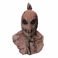 Horror Fields Creepy Killer Scarecrow Psycho Halloween Costume Mask Adults Teens