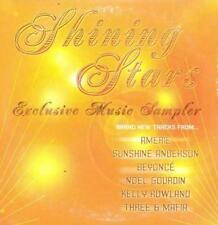 Shining Stars Exclusive Music Sampler PROMO AUDIO CD Beyonce Three 6 Mafia w/Art